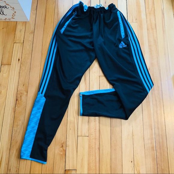 0e4ff420ae4 adidas Pants   Track Black Mens Sz Large Climalite   Poshmark